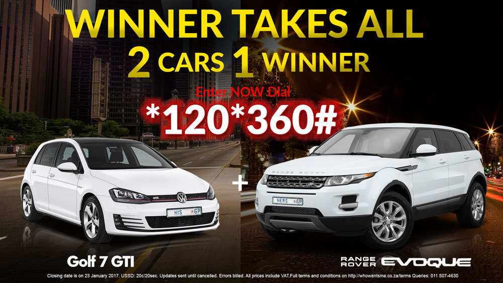 Win a GTI AND an Evoque